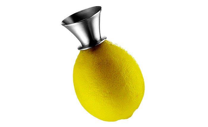 Altijd vers citroensap met deze citroenpers