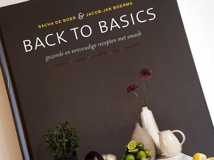 Back to basics, Sacha de Boer en Jacob Jan Boerma