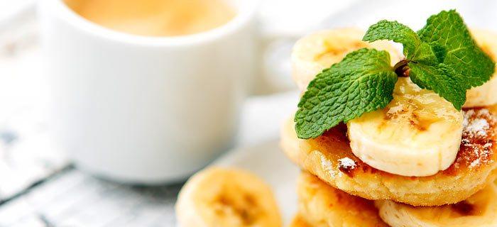 Cream cheese pancakes op z'n Amerikaans