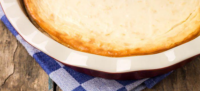 Een hele makkelijke cheesecake