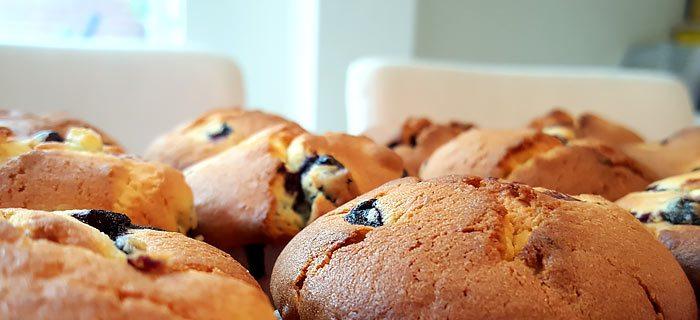 Overheerlijke citroen blueberry muffins