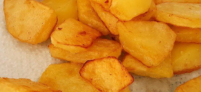 recept voor de perfecte gebakken aardappelen. kookidee.nl