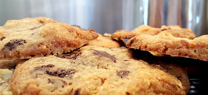 Lekker knapperige chocolate chip cookies