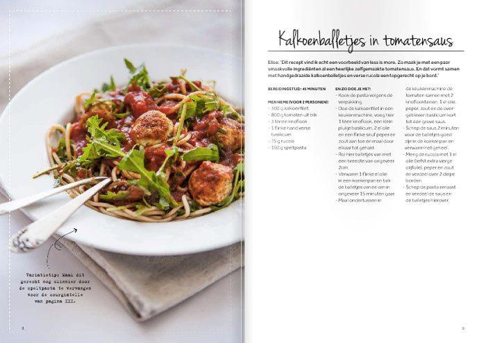 Chickslovefood, het skinny six-kookboek