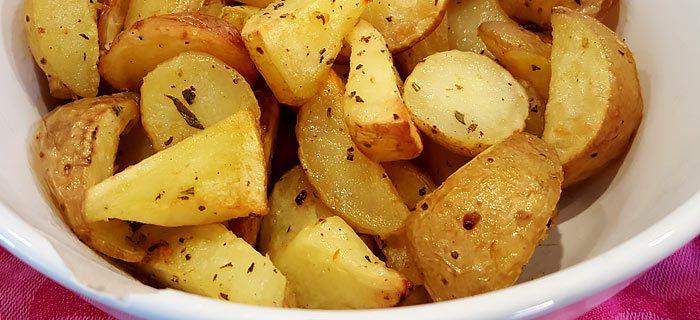 Misschien wel de lekkerste aardappeltjes uit de oven