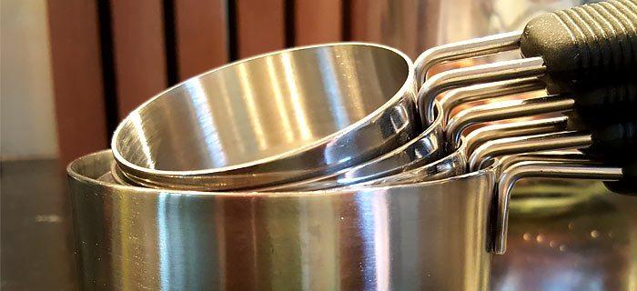 Maatcups, ideaal voor Amerikaanse recepten