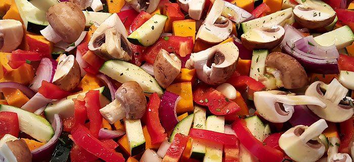 Gegrilde herfstgroenten uit de oven