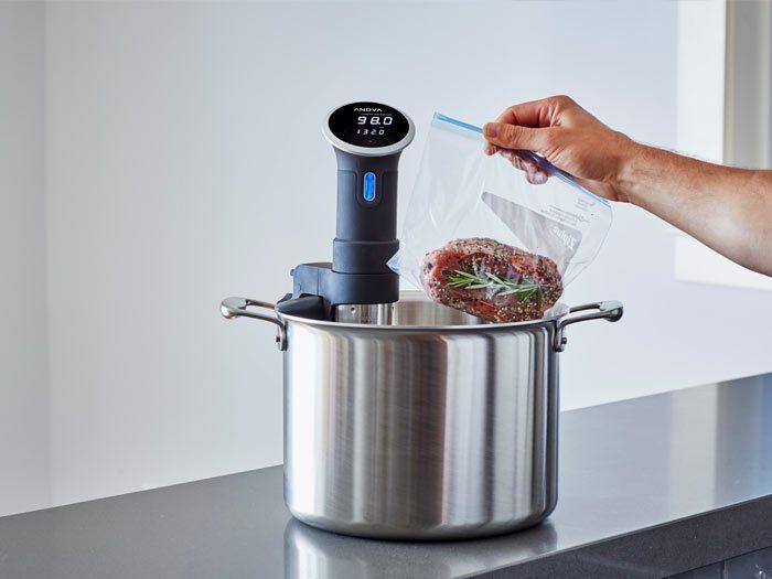 Sous Vide koken met de Anova Precision Cooker