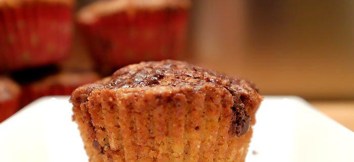 Heerlijke vanille muffins met stukjes pure chocolade