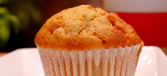 Lekker luchtige appel kaneel muffins