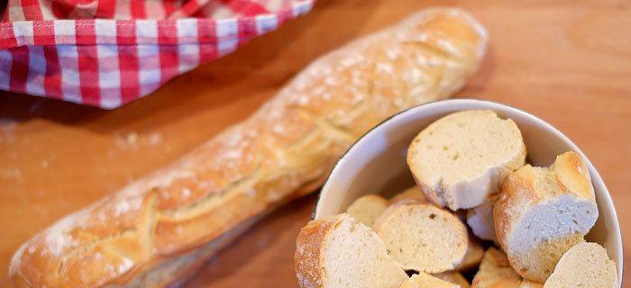 Zelf stokbrood maken