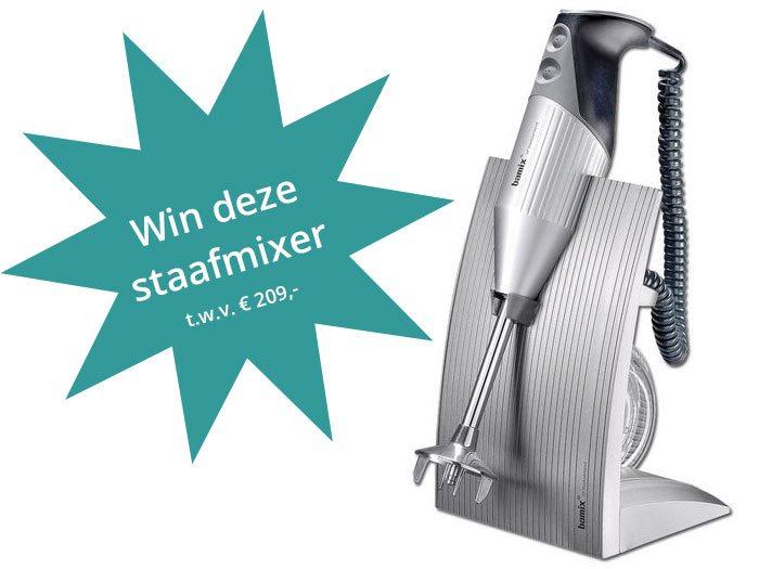 Win een Bamix SwissLine M200 staafmixer