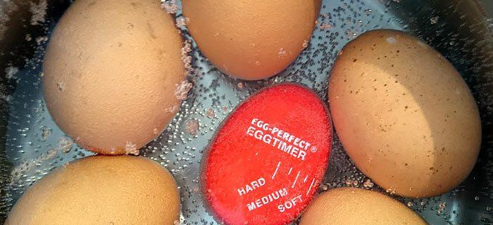 Nooit meer kapot kokende eieren