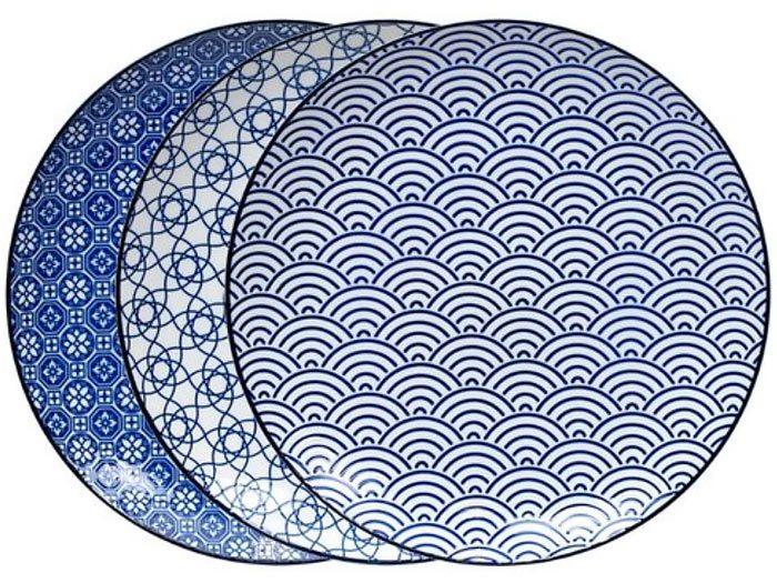 Tokyo Design Studio Nippon Blue bordenset
