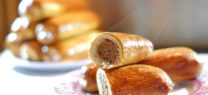 zelf brabantse worstenbroodjes maken. kookidee.nl