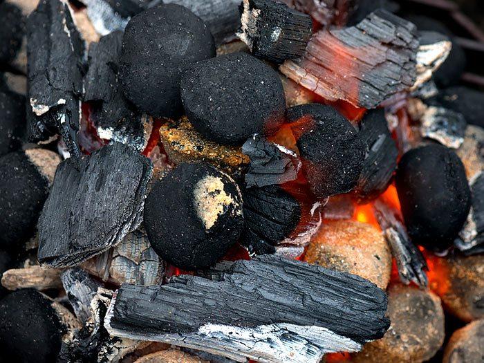 Houtskool of briketten op de barbecue?
