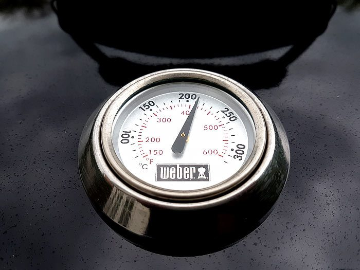Welke barbecue kopen, deksel met thermometer
