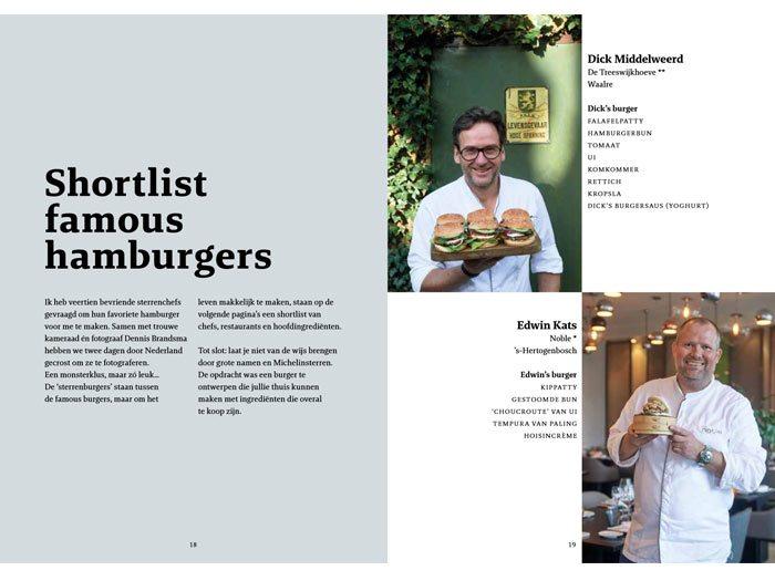 Het ultieme hamburgerboek, Julius Jaspers