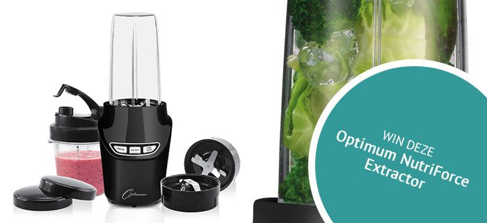 Win een blender: Optimum NutriForce Extractor