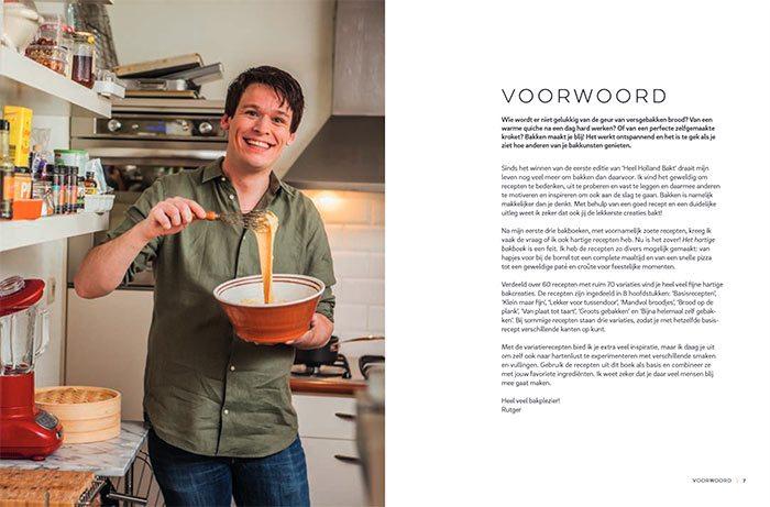 Het hartige bakboek, Rutger van den Broek