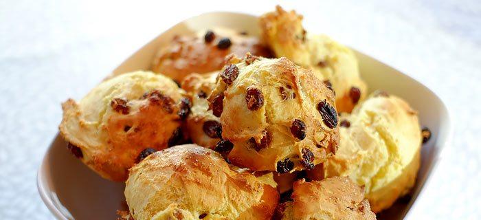 Makkelijke kwarkbroodjes