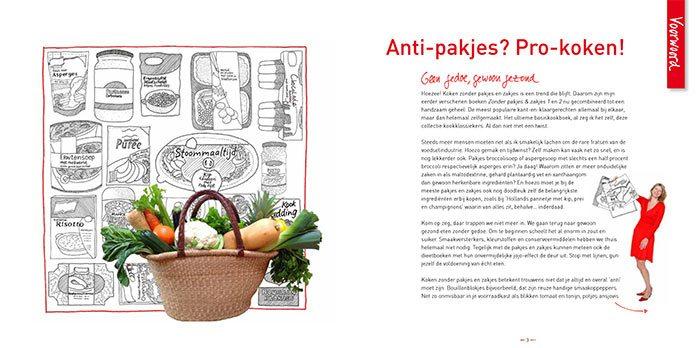 Het grote zonder pakjes & zakjes kookboek