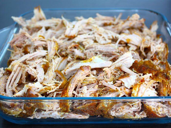 Pulled pork uit de oven van Francesca Kookt