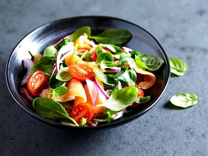 Is spinazie met vis ongezond?