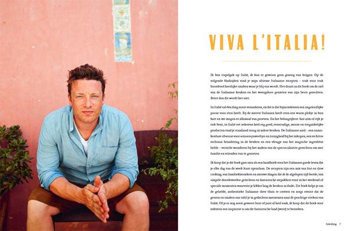 Jamie kookt Italië, Jamie Oliver