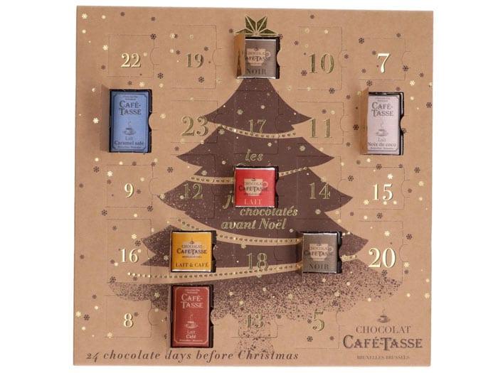 Chocolade adventskalender van Dille & Kamille