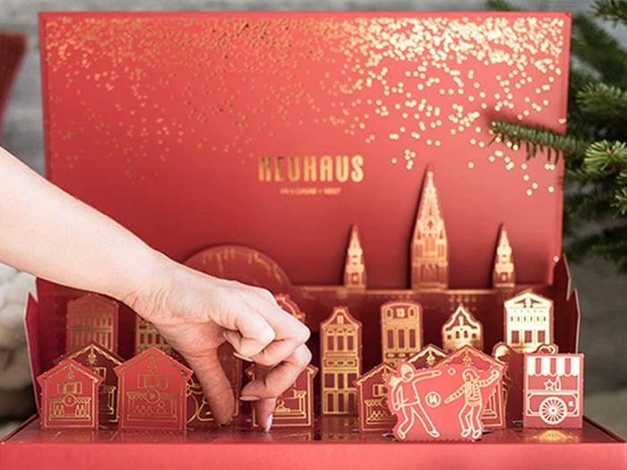 Neuhaus Chocolate Winter Wonderland Pop-up adventskalender