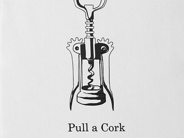 DDDDD Theedoek Pull a cork