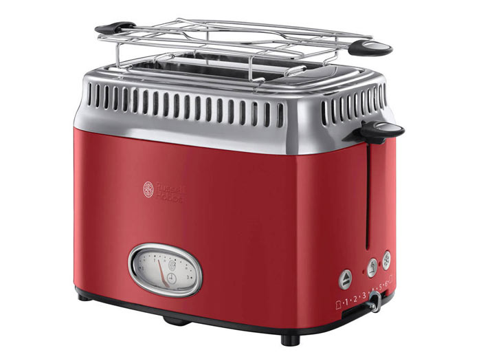 Russell Hobbs 21680-56 Retro Ribbon Red broodrooster