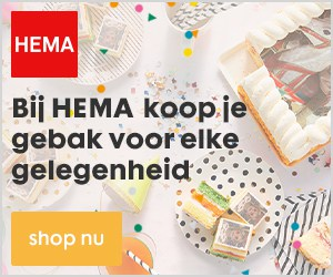 Bij HEMA koop je gebak voor elke gelegenheid
