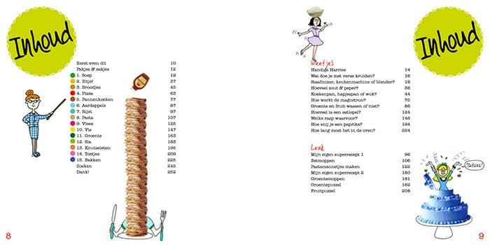 Het grote kinderkookboek, Karin Luiten