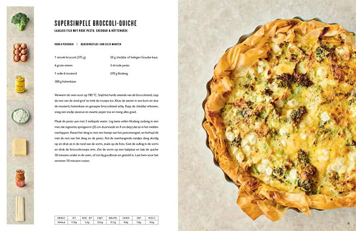 Recept voor een supersimpele broccoli-quiche