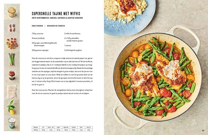 Recept voor een supersnelle tajine met witvis