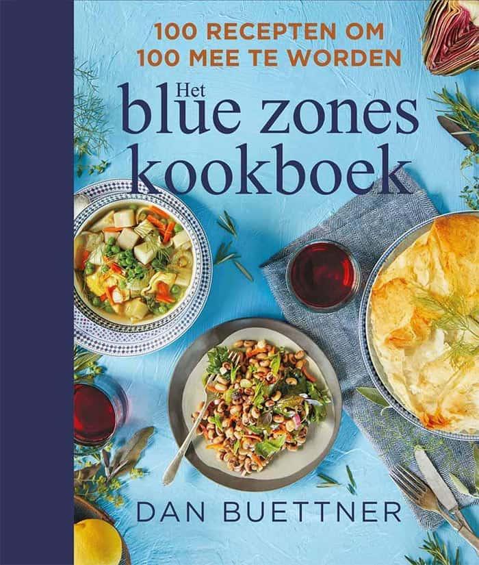 Omslag van het Blue Zones kookboek