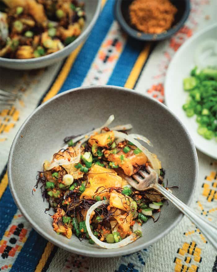 Een van de recepten uit het Blue Zones kookboek